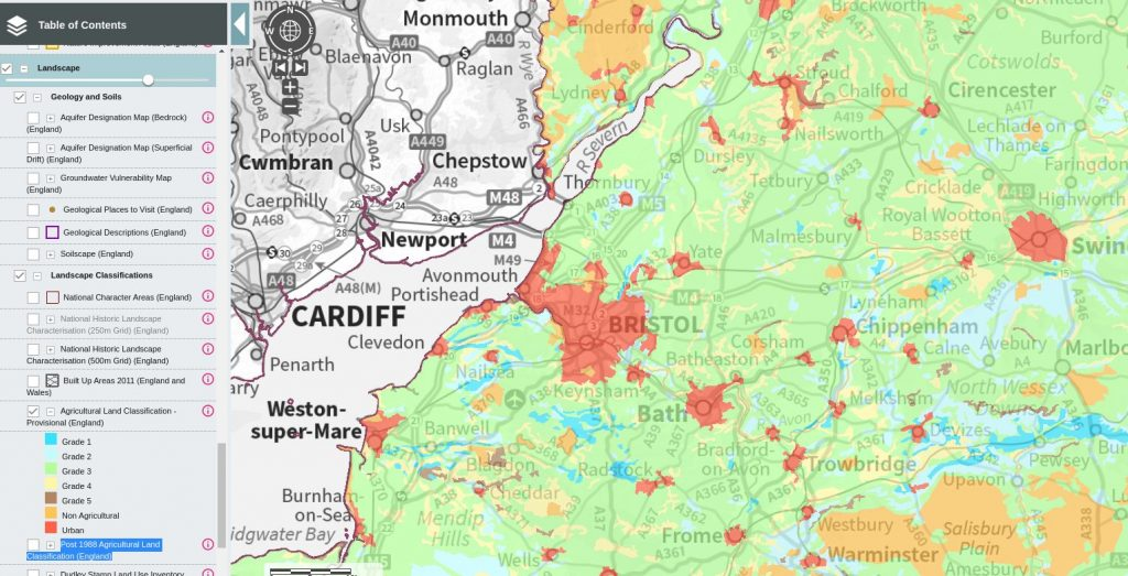 Magic Map, provided by DEFRA